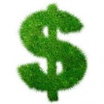 wheatgrass dollar symbol