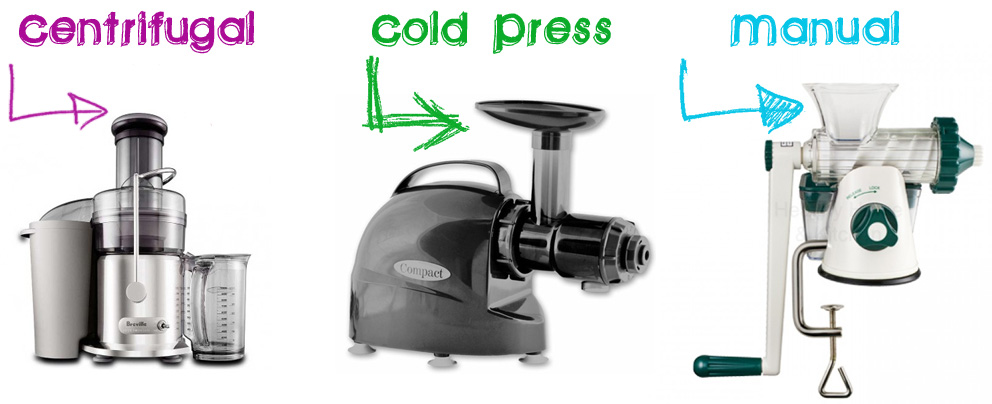 Different Wheatgrass Juicers